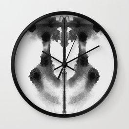 Form Ink Blot No. 13 Wall Clock