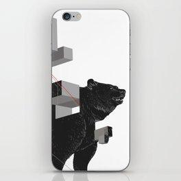bear_deconstructed iPhone Skin