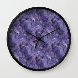 Drifted Paint Wall Clock