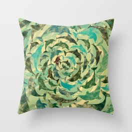 Dholphins Throw Pillow