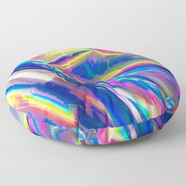Holographic Floor Pillow