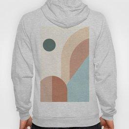 geometric abstract 127 Hoody