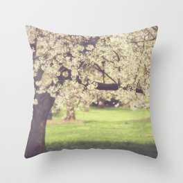 The Cherry Orchard Throw Pillow