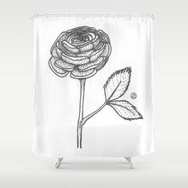Blooming Is Effortless Shower Curtain