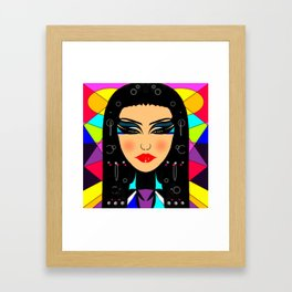 Cleopatra design Framed Art Print