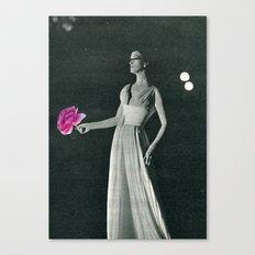 Curtain Down Canvas Print