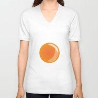 egg V-neck T-shirts featuring Egg by Rodrigo Rojas