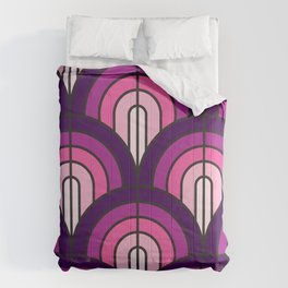 SUPER DOOPER PURPLE Comforters