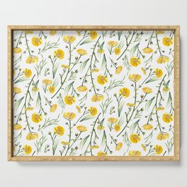 Buttercups Serving Tray