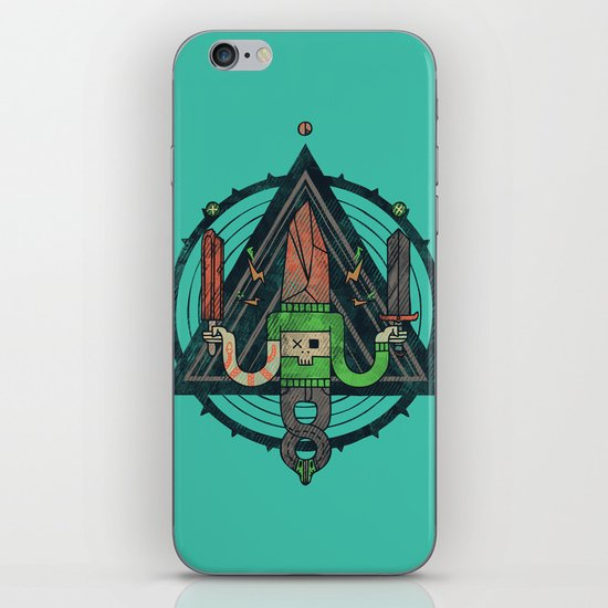He, with the peculiar voice iPhone & iPod Skin