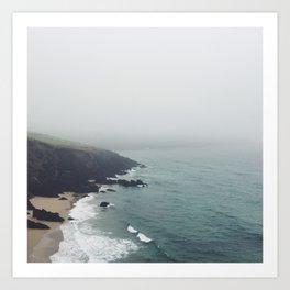 Irish Coast #1 Art Print