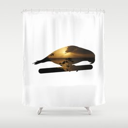 Honduran Nature #1 Shower Curtain