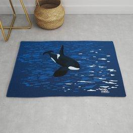 killer whale orca Rug