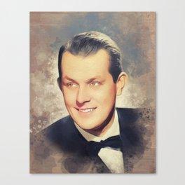 Vaughn Monroe, Music Legend Canvas Print