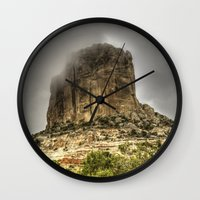 utah Wall Clocks featuring Utah Monument by Kent Moody