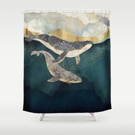 Bond II Shower Curtain