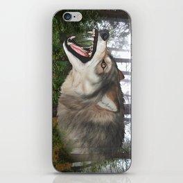 Wolf Chomp iPhone Skin