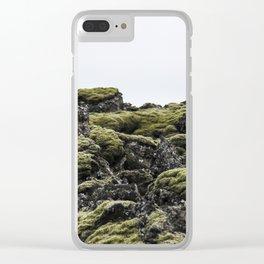 Lava Rocks Clear iPhone Case