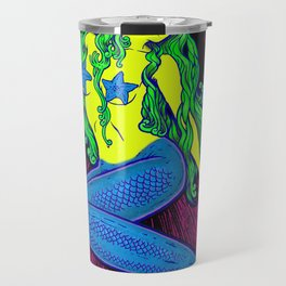 Song of the Siren, Neon Blacklight Travel Mug