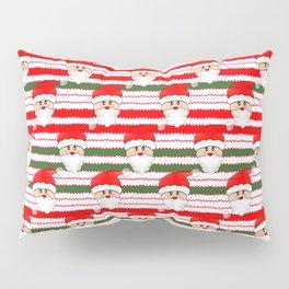 Knitted Santa - Merry Christmas Pillow Sham