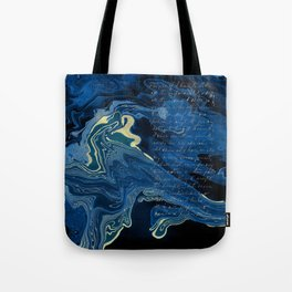 Lapislazuli and Gold #Society6 #decor #buyart Tote Bag