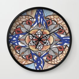 Hidden Jewel Wall Clock