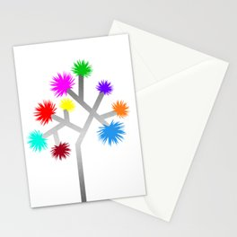Joshua Tree Pom Poms by CREYES Stationery Cards