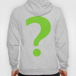 Enigma - green question mark Hoody