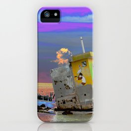 Finding the Treasure iPhone Case