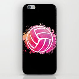Volleyball Girl Volleyball Lover Gift Idea iPhone Skin