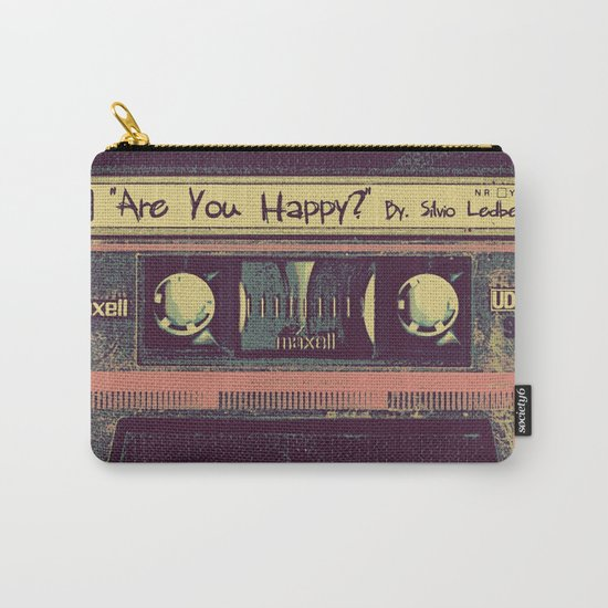 Are You Happy?  |  Cassette Tape Carry-All Pouch