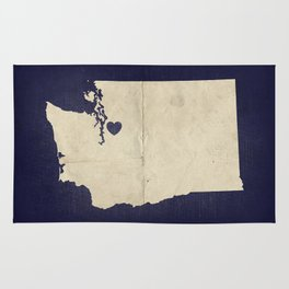 Seattle, Washington Rug