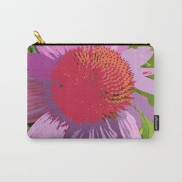 Echinacea in purple and orange, digitally modified Carry-All Pouch