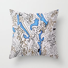 Abstract Pattern #1 Throw Pillow