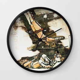 Moonsault Wall Clock