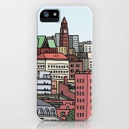 Hoboken Skyline iPhone Case