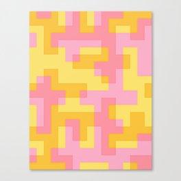 pixel 001 02 Canvas Print