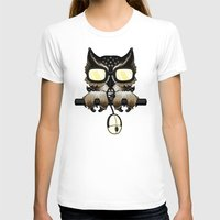 inside gaming T-shirts featuring Gaming Owl by AneNj