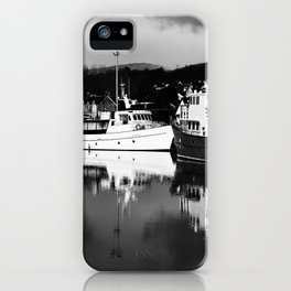 Boats on the Canal iPhone Case