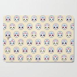 Cute sugar skulls Cutting Board