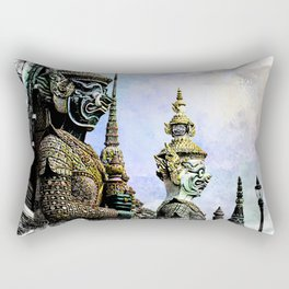 Bangkok palace I Rectangular Pillow