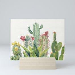 Cactus Watercolor Mini Art Print