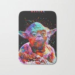 Master Yoda Abstract Sci-fi Star.Wars Artwork Bath Mat