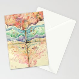 Where everything is music Stationery Cards