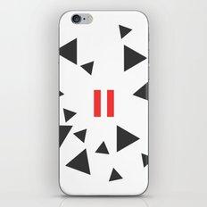 Opposite III Pause iPhone & iPod Skin