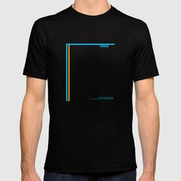 """Tron"" Film Inspired Vintage Movie Poster T-shirt"