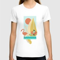 florida T-shirts featuring Florida by Tank Top Sunday