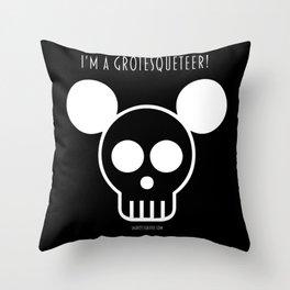 I'm a Grotesqueteer! Throw Pillow