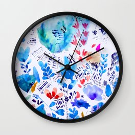 East Meets West Wall Clock