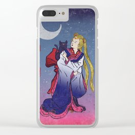 Sailormoon Clear iPhone Case